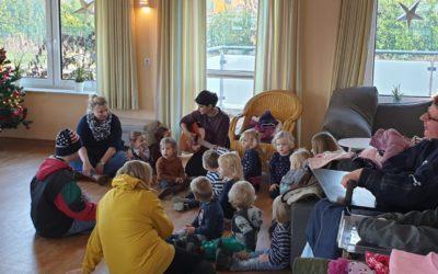 Besuch Kinderkrippe Bunde