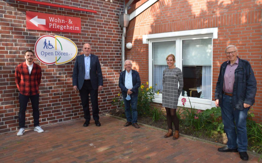 Spende der Hans-Heyo Prahm Stiftung und der Verlaatjer Spöölbühn
